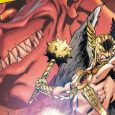 For a book called Death of Hawkman the titular character seems to be very underutilized in the first issue.