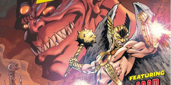 For a book called Death of Hawkman the titular character seems to be very underutilized in the first issue. Not that I am looking forward to the death of one […]