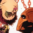 Issue #5 is a kind of sidekick swap with Ravager spending the issue with Batman and Deathstroke with Robin