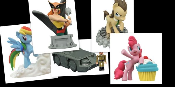 Whether you're a magical pony, a Colonial Marine, or a member of the Justice League, this week is all about friendship! Diamond Select Toys is shipping five new items to […]