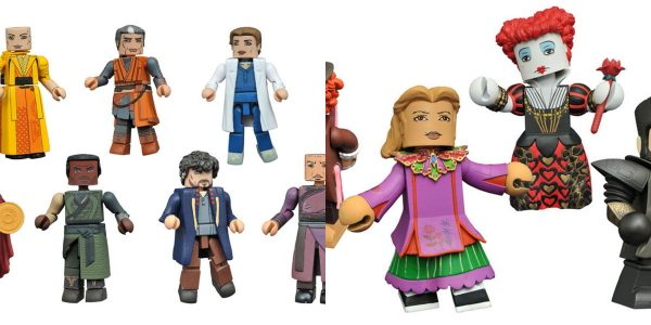 It's a mind-blowing week at comic shops, as Diamond Select Toys ships two reality-twisting toy lines to stores across North America! First up, four Vinimates vinyl figures based on Alice […]