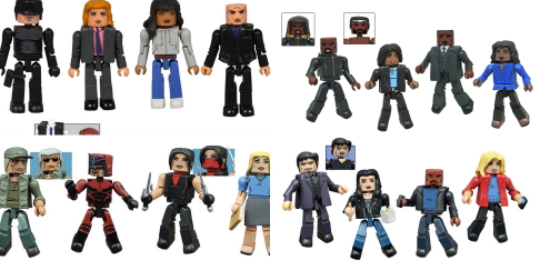 The Marvel Minimates line of mini-figures has tackled every corner of the Marvel Universe, from the comic books to movies to animation. But now they're diving into the world of […]