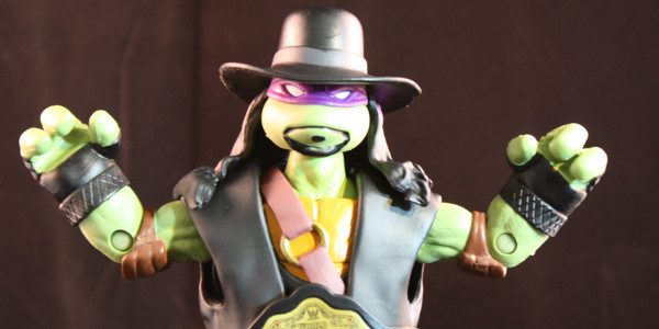 Teenage Mutant Ninja Turtles and the WWE team-up for an all-star action figure
