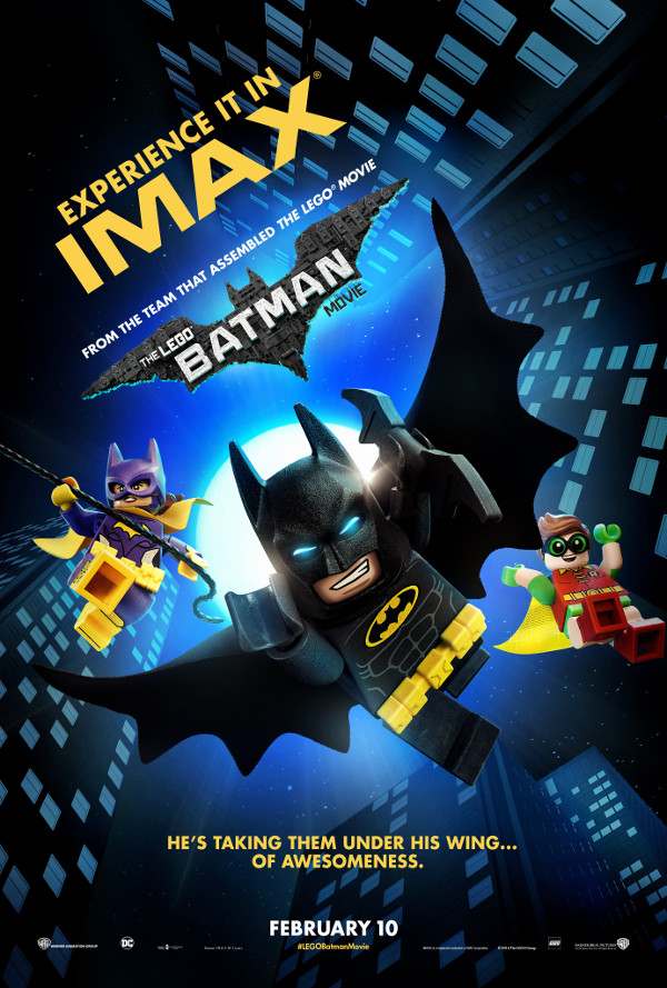 Release Of The LEGO Batman Movie IMAX Has Released Exclusive Art For Film Featuring And Those Hes Taken Under His Wing Batgirl Robin