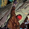 Artemis and Red Hood sitting in a tree k.i.c.k.i.n.g the crap out of each other probably!