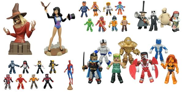 The holidays are fast approaching, and quality Christmas gifts are getting harder and harder to find! Luckily, Diamond Select Toys just sent a massive shipment to your local comic shop! […]