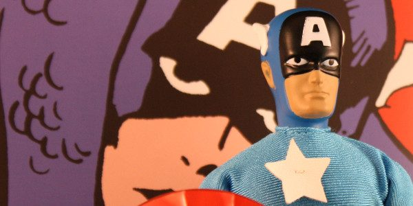 Diamond Selects gives the Star-Spangled Avenger a much-needed upgrade. Here's another Mego repo I had when I was a kid. Captain America. Like all the sets from Diamond Select, it […]