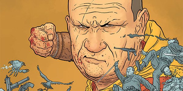 Get a kung-fu grip on yourself as Geof Darrow's blood-spattered killing machine the Shaolin Cowboy returns this April in a new four-issue mini-series to be published by Dark Horse Comics. […]