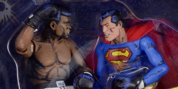 "Based on the Classic DC Comics Issue Featuring the ""Greatest of All Time"" A themed action figure two-pack recreating one of the most famous boxing matches of all time will […]"