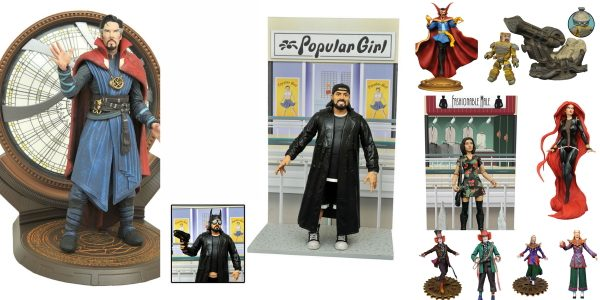 This week, your local comic shop has become a wonderland of magic and excitement, as Diamond Select Toys ships a ton of new products from Alice Through the Looking Glass, […]