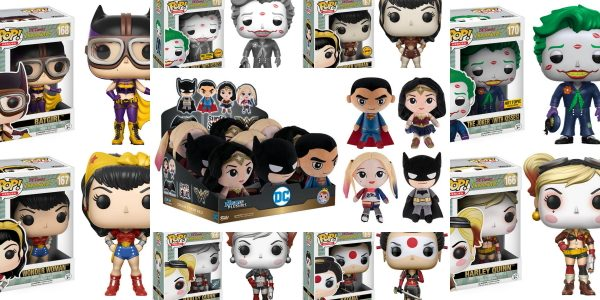 Funko shows off their new line DC Hero Plushies and DC Bombshell Pops! Hero Plushies: DC Our newest line of Hero Plushies features some fan-favorite DC Comics characters! Snuggle up […]