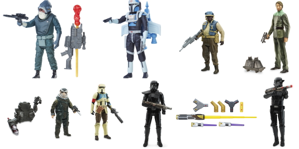 Star Wars Toys 2017 : New reveals hasbro star wars figures and role play