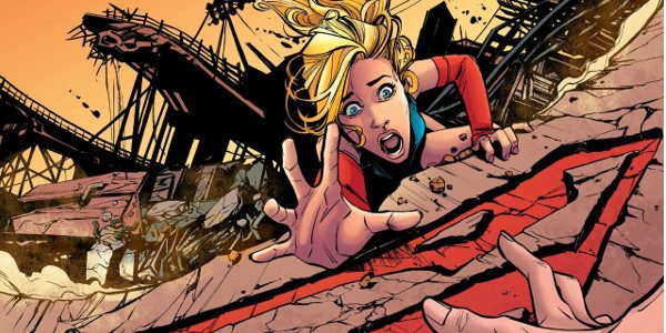 Death, friendship and Kryptonite handcuffs leads to a pretty damn good issue! Kara tries to use her power to save her friend Jen from falling during the earthquake but her […]