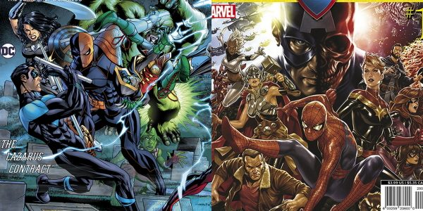 The Titans and Teen Titans battle Deathstroke in a four-part crossover storyline running through DC Entertainment books this May The March edition of Diamond Comic Distributors' monthly PREVIEWS catalog arrives […]