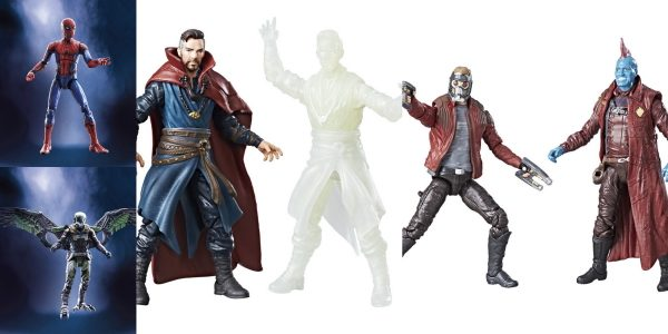 A new assortment of Marvel Legends 3.75-inch movie 2-packs were revealed this morning, featuring characters from Doctor Strange, Guardians of the Galaxy: Vol. 2, and Spider-Man: Homecoming!  A favorite among […]