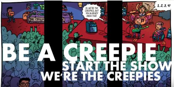 """""""Creepies R Go"""" Heralds the Debut of New Comic by Liz Prince and Amanda Kirk OOM! Studios is proud to unveil a lyric music video for """"Creepies R Go,"""" the […]"""