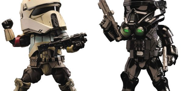 The Imperial Special Forces invade comic shops as Diamond Comic Distributors and Beast Kingdom present new additions to their line of PREVIEWS Exclusive (PX) Action Figures. Fans can choose between […]