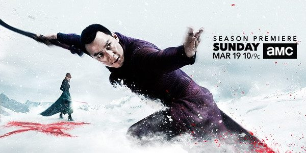 """THE SEASON TWO PREMIERE OF AMC'S MARTIAL ARTS DRAMA """"INTO THE BADLANDS"""" AIRS SUNDAY, MARCH 19TH AT 10:00PM ET/PT The second season of AMC's martial arts drama, """"Into the Badlands,"""" […]"""