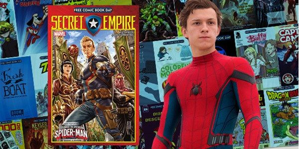 Spider-Man: Homecoming Star Tom Holland Encourages Fans to get a Preview of Spectacular Spider-Man at Local Comic Shops on Saturday, May 6 for Free Comic Book Day With Free Comic […]
