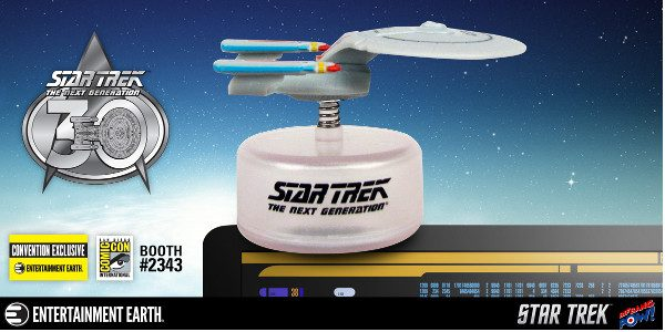 Entertainment Earth SDCC Exclusive Star Trek: TNG Enterprise! Shields up! Red alert! You don't have to travel to the 24th century to get this Galaxy-class, fifth Federation starship! Thanks to […]