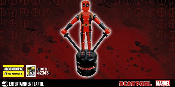 Enjoy Retro Irreverence with the Deadpool Wooden Push Puppet – SDCC Exclusive Deadpool is coming to San Diego Comic-Con, and he's bringing his foul mouth. Marvel has one of the […]