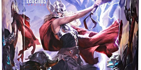 Hasbro Marvel SDCC exclusive revealed this morning! The Legends Series Battle for Asgard 5-Pack features premium packaging with original artwork by Tyler Jacobson, and includes 6-inch scale Malekith, Marvel's Bor, […]