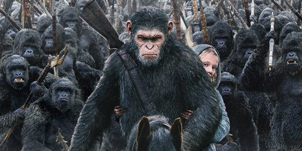 "Winner takes all. Whose side are you on? In celebration of opening week, 20th Century Fox has just released an exclusive new clip featuring ""Bad Ape and Maurice"" from WAR FOR THE PLANET […]"