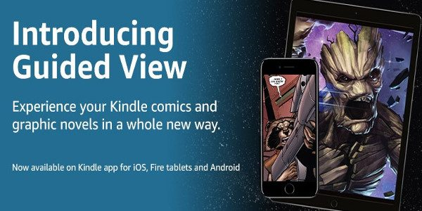 Digital comic books and graphic novels bought in the Kindle store benefit from the best comic book reading experience available ComiXology's Guided View now available on the Kindle app for […]