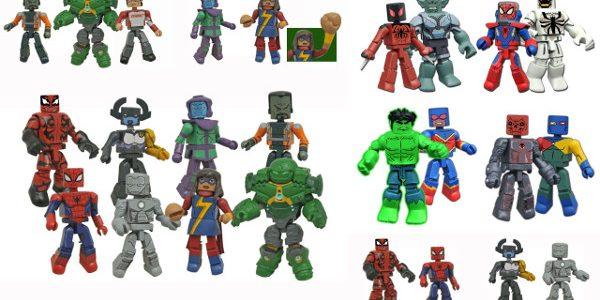 Diamond Select Toys recently released Series 4 of its Marvel Animated Minimates collection, the latest assortment in an exclusive mini-figure line only available at Walgreens stores. Now they're ready to […]