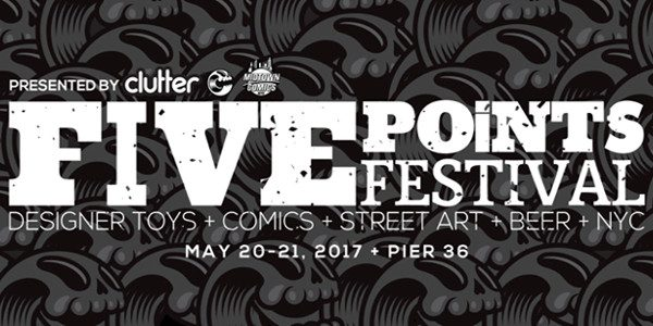 From Saturday, May 20th to Sunday, May 21st, Valiant coming on board for the Five Points Festival – and we're bringing along five boroughs-worth of merchandise and programming for the ultimate […]