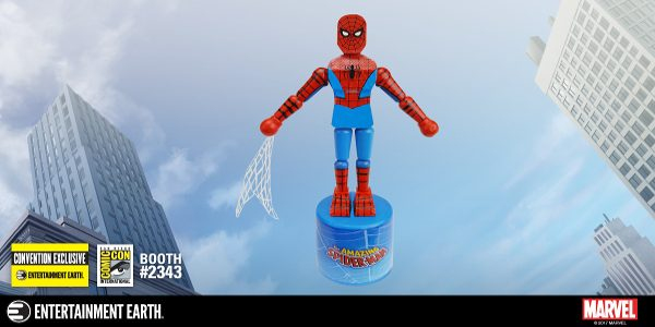 Convention Exclusive Spider-Man Push Puppet Swings into Action! When classic, retro-styled toys collide with iconic, beloved Marvel characters, everyone wins! San Diego Comic-Con gets the very coolest things. The only […]