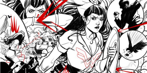 Marguerite Bennett and Marguerite Sauvage bring more Bombshells action this August The Nazi-punching fan-favorite heroes of DC Comics: Bombshells are returning for a brand-new digital-first series this August with BOMBSHELLS […]