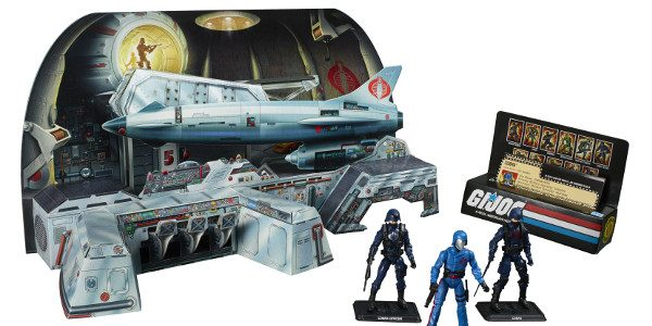 Hasbro just revealed one of their biggest San Diego Comic-Con 2017 exclusive products—the G.I. Joe Cobra Missile Command Headquarters! You may be familiar with this playset, which is a faithful […]