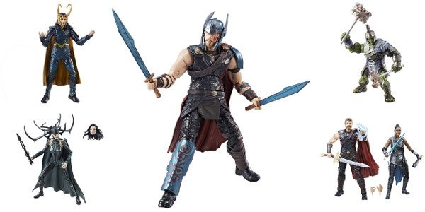 Hasbro revealed Thor: Ragnarok Legends Series 6-Inch figures this morning This reveal includes Thor, Hela, Loki, Hulk Build-A-Figure, and the Legends 6-Inch 2-Pack with Thor and Valkyrie. MARVEL THOR: RAGNAROK […]