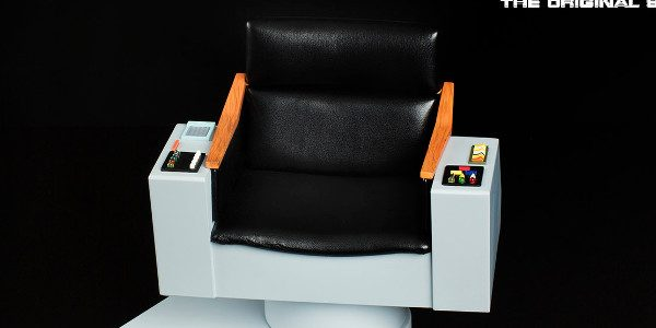 Experience the seat of power with the Star Trek™: TOS 1:6 Scale Captain's Chair FX Replica by Quantum Mechanix Inc. (QMx), based on the original Enterprise screen prop. From this […]