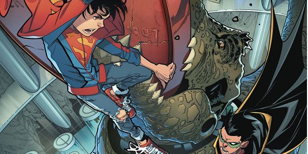 The age old question, who would win in a fight between Superman and Batman? We finally get an answer in this issue. The Super-Sons are grounded, literally in Jon's case, […]