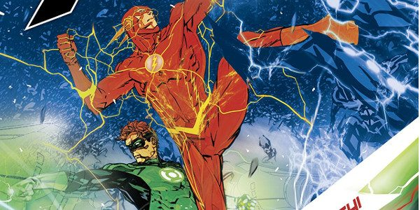 """Every second is a gift."" In this issue, Barry and Hal Jordan are trying to stop Multiplex. As they fight him and his many copies, Wally West and Iris are […]"