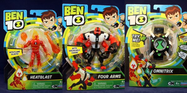 New show. New toys. New manufacturer. This past year, the Cartoon Network show Ben 10 got a reboot. The creators decided to go back to the basis and make Ben […]