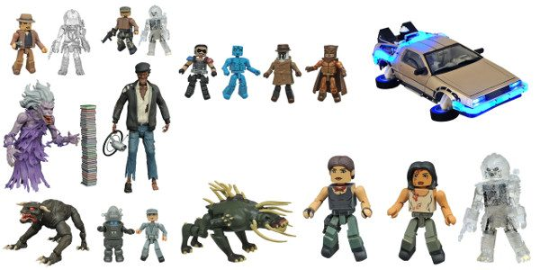 Another New Toy day has arrived, and a new shipment of Diamond Select Toys items have arrived at your local comic shop! Multiple sets of Minimates mini-figures, from Watchmen, Predator […]