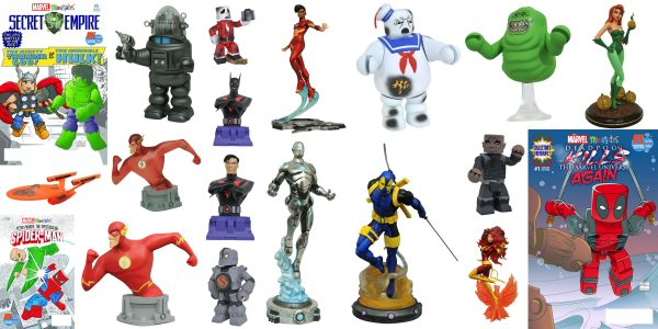 Diamond Select Toys Reveals Exclusives For Comic Con International 2017