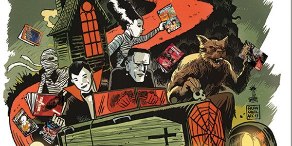 Diamond Comic Distributors is proud to reveal the artwork created by Eisner Award-winning artist Francesco Francavilla (Afterlife with Archie, Black Beetle) for the sixth annual Halloween ComicFest (HCF) 2017 on […]