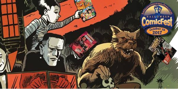 30 comics available during Halloween ComicFest: 18 Full Size and 12 Mini Comics This year, Halloween ComicFest (HCF) features a whole new selection of 30 comic book titles for the […]
