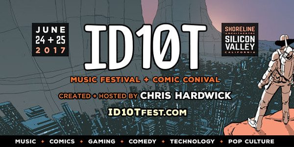 "The publisher will take part in Chris Hardwick's inaugural music and comics festival "" order_by=""sortorder"" order_direction=""ASC"" returns=""included"" maximum_entity_count=""500″] BOOM! Studios is pleased to announce it will exhibit at the ID10T […]"