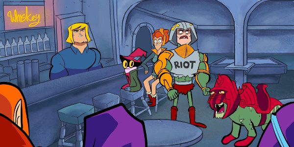 IT'S ALWAYS SUNNY IN ETERNIA What do you get when you take classic cartoon space barbarians and mix them one of the most popular comedies on cable television? You get […]
