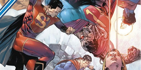 """Breathe it in and smile. Death is in the air"" The Superman Family heads to battle against Cyborg Superman and his gang consisting of Mongul, Metallo, Blanque, Eradicator, and Zod. […]"