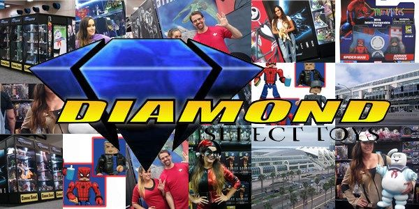 Comic-Con International is less than a week away, and the Diamond Select Toys team is about to get on a plane to sunny San Diego! But before they left, they […]