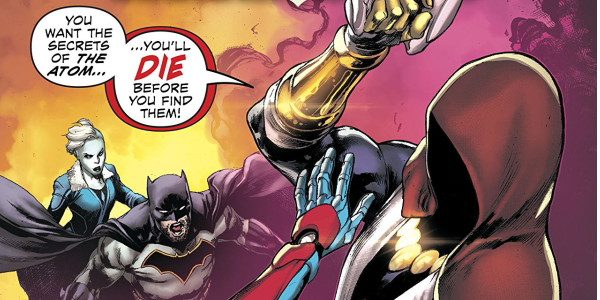 The JLA continue the search for Ray Palmer as part 2 of the Panic in the Microverse continues! The JLA have entered the Microverse and stumble across Preon, a figure […]