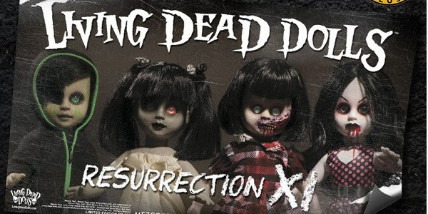 Mezco Toyz is proud to present a new limited edition banner sure to thrill any Living Dead Dolls fan looking to decorate their crypt. To celebrate The Living Dead Dolls […]