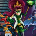 A mythic quest to save the world unfolds in Nickelodeon's newest animated series, Mysticons, premiering Monday, August 28, at 4 p.m. (ET/PT).