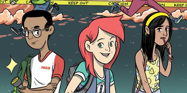 Arlene Daley, Matt Daley, Trevor Crafts, and Ellen Crafts, the creators behind the BOOM! Studios all-ages original graphic novel The Not-So Secret Society, will be appearing at Barnes & Noble […]
